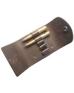 Leder-Patronenetui 5 Kugeln