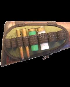 Schaft Patronengurt, 4 Kugeln / 4Schrot
