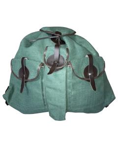 Jagdrucksack Leinen, schilfgrün,  Die Lautlosen