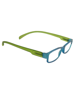 Lesebrille LONG blau / grün,