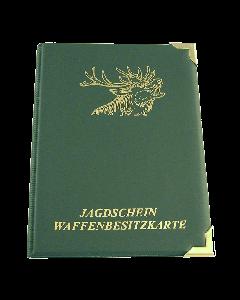 Jagdscheinetui A7 Motiv Hirsch