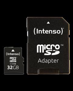 Micro SDHC Class 10, 32 GB von Intenso