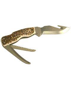 Skinner Häutemesser,  inkl. Messerscheide geöffnet