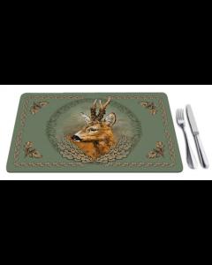 Tischunterlage Jagdmotiv Bock