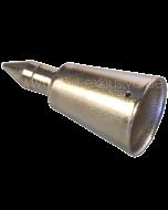 Stockspitze – Metall 22mm back