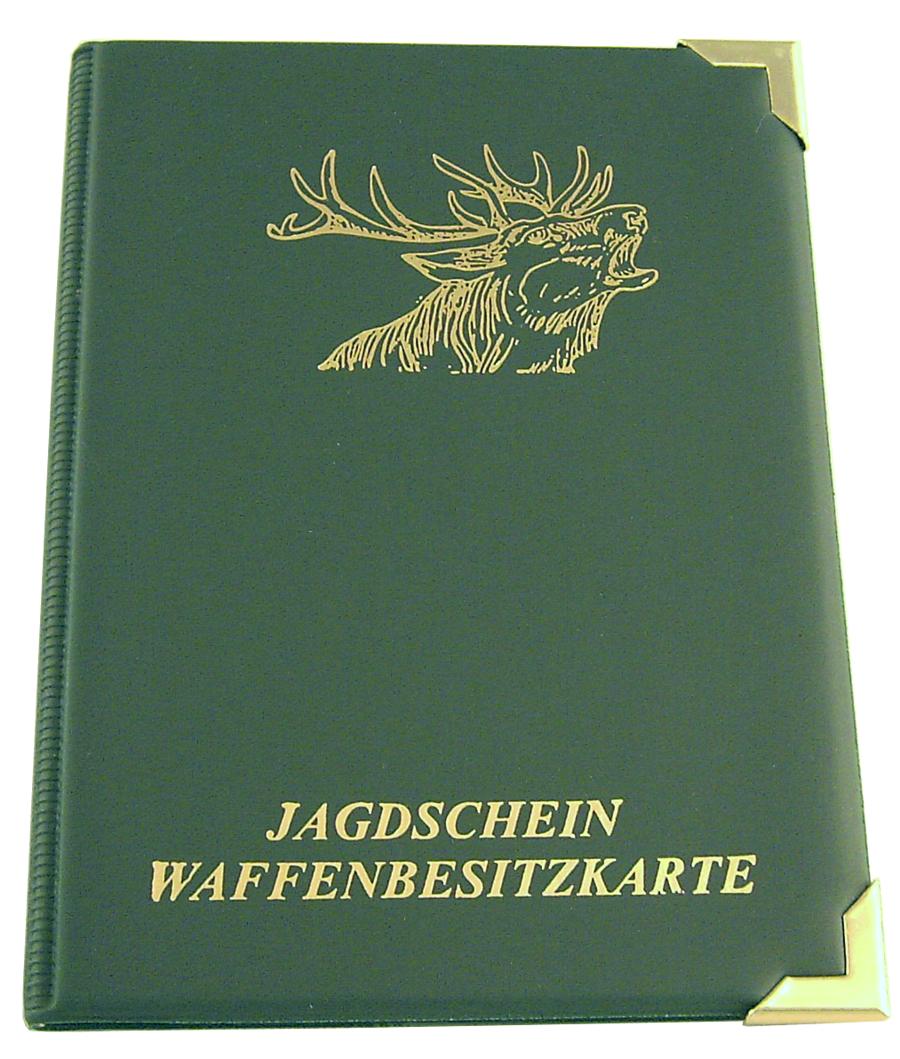 Ruf zuerst der Verkauf von Schuhen wie man wählt Details zu Jagdschein Etui, WBK Etui A7, speziell für Österreich Polen, für  Jäger und Jagd